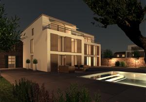 3d architektur visualisierung haus architektur animation d sseldorf. Black Bedroom Furniture Sets. Home Design Ideas
